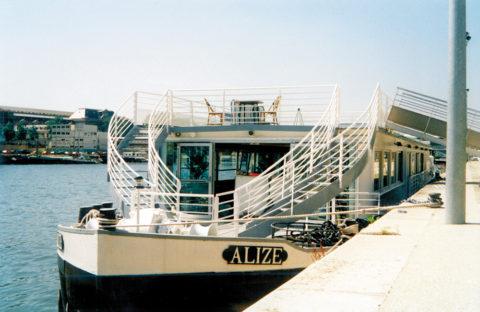 Péniche Alizé