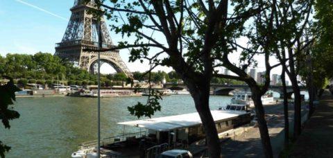 La Péniche Navigante Tour Eiffel